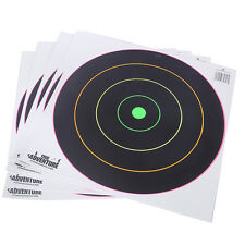 5× Fluorescence Thick Gun Paper Targets Shooting Hunting Rifle Bow Arrow Range