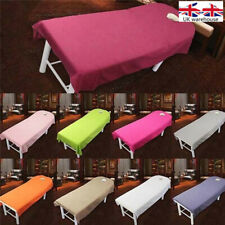 1 pcs Massage Table Polyester Beauty SPA Bed Cover Sheets with Face Breath Hole