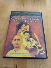 Crouching Tiger, Hidden Dragon (Dvd, 2001, Widescreen Edition) Great Movie!