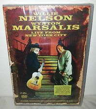 DVD WILLIE NELSON & WYNTON MARSALIS - LIVE FROM NEW YORK CITY - NUOVO - NEW