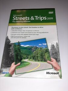 Microsoft Streets and Trips 2009 Version for Window