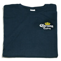 New Corona t shirt BLUE sizes S - XXL genuine made in Mexico beer memorabilia
