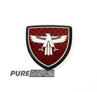 MIDSHIP RUNABOUT EAGLE BONNET HOOD BADGE EMBLEM - GENUINE TOYOTA - AW11 - NEW