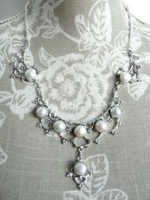 "Beautiful Design Fresh Water Pearls Necklace 20"". Free P&P, UK Seller"