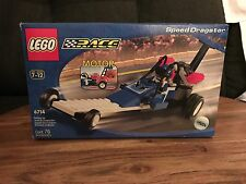2000 LEGO SET #6714 COMPLETE IN BOX SPEED DRAGSTER LEGO STUNT RALLY - RACE