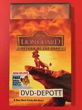 The Lion Guard: Return of the Roar DVD & Free Toy NEW AUTHENTIC BEWARE OF FAKES