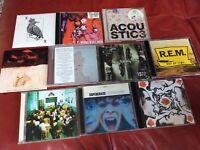 Job Lot of 10 indie rock britpop punk alternative CDs - Singles,albums Oasis