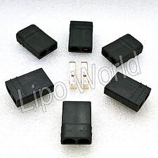TRAXXAS TRX BUCHSE FEMALE Goldkontakte Modellbau Adapter Kabel Lipo Akku