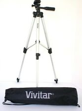 "Lightweight Vivitar 50"" Photo/Video Tripod With Case For Fujifilm X-E2 X-M1 X-A1"