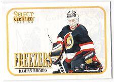 Damian Rhodes , 1996-97 , Select Certified , Freezers , #15