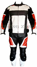 SPEED RIDERS FIT UNISEX CE ARMOURS MOTORBIKE / MOTORCYCLE LEATHER SUIT & JACKET