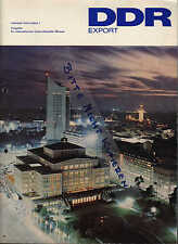 BERLIN, Prospekt 1976, DDR EXPORT Internationale Unterrichtsmittel-Messen 1976