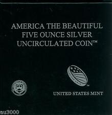 US Mint Box & COA OGP  for 2013-P FORT McHENRY 5 Oz ATB SPECIMEN SILVER NO COINS