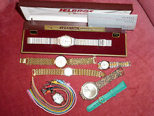 WOW! 6 WRISTWATCHES CLASSIC & CONTEMPORARY FOR MEN & WOMEN ALL SHAPES & SIZES!!!