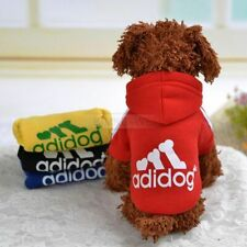 Pet Dog Cat Puppy Sweater Hoodie Coat Clothes Warm Costume Apparel New (XS-9XL)