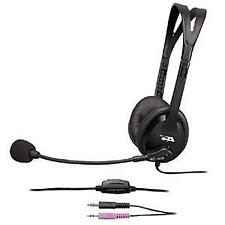 Cyber Acoustics AC-400MV 3.5mm Computer PC Headphones with Boom Microphone Mic