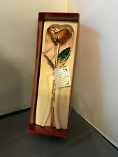 LIVING GOLD REAL ROSE DIPPED IN 24K GOLD IN BOX
