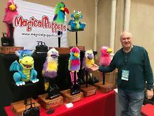 Professional Animatronic Puppets Parrot Cockatiel Macaw Lovebird Parakeet