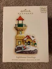 Hallmark Ornament 2007 Lighthouse Greetings Magic Series