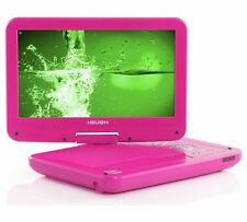 Bush 10 Inch Swivel LCD Shock Resistant Portable DVD Player Pink