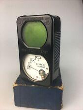 Weston Model 505 Westinghouse See-Ability Light Meter Serial 158 w/original Box