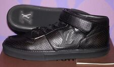 LOUIS VUITTON Acapulco Perforated Sneaker Black LV Logo 11/12-12.5 US *LIMITED