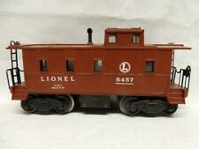 POSTWAR LIONEL 6457 CABOOSE  WITH LIGHT, C-7 EXCELLENT CONDITION