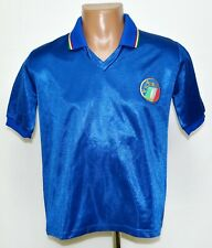 ITALY 1986/1990 HOME FOOTBALL SHIRT JERSEY DIADORA SIZE S ADULT RETRO REPLICA
