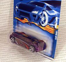 AUDI AVUS PURPLE SPORTS CAR 2001 #104 RARE HOT WHEELS
