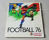"RARE !!! COMPLETE Album ""FRENCH FOOTBALL 76"" PANINI 1976"