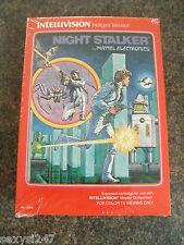 Night Stalker Intellivision NUOVO VECCHIO STOCK GIOCO SIGILLATO in confezione da 1982