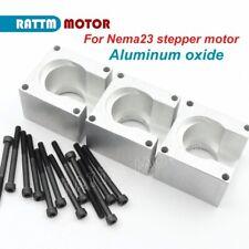 3pcs Nema 23 Stepper Motor Mount Aluminum Bracket Holder Support Base Cnc Router