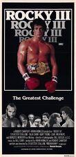 ROCKY 3 Movie POSTER 11x17 Australian Sylvester Stallone Talia Shire Burgess