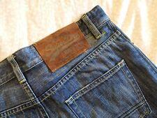SUPERDRY Men's Standard Blue Jean W30 (W31.5) L32  button fly            (#A792)