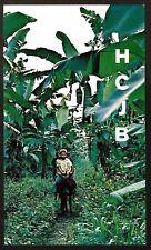 """QSL """"HCJB"""" 11.745 MHz Radio Quito Boys on Burro Shortwave DX SWL 1971"""