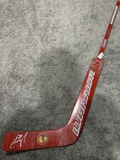 CAM WARD Chicago Blackhawks Autographed SIGNED Goalie Stick w/ COA