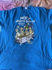 NOFX hepatitis bathtub tour t-shirt 2016 Europe rare SIZE XL