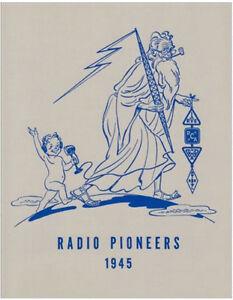 Radio Pioneers (Commemorating Dinner, Hotel Commodore, 1945) (Lindsay book)