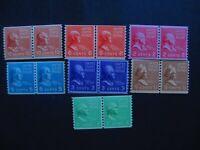 US #839-42, 45-47 Mint Never Hinged- (JB8) WDWPhilatelic 3