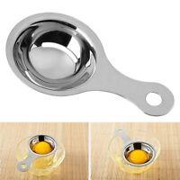 Stainless Steel Egg White Yolk Filter Separator Cooking Tool Kitchen Gadget