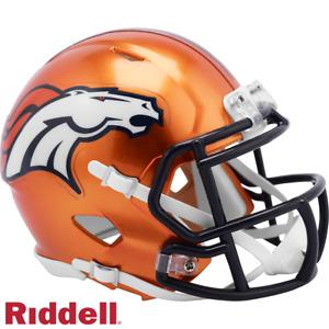 Denver Broncos Flash Alternate Riddell Speed Mini Helmet New in box