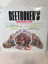 Beethoven's Greatest Hits Columbia~NEW SEALED~Record MS7504 Bernstein Ode to Joy