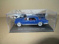 452K ixo altaya Facel Vega Excellence 1960 Blue 1:43