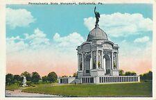 GETTYSBURG PA – Pennsylvania State Monument