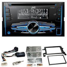 JVC KW-R520 Autoradio CD USB MP3 AUX Einbauset für Suzuki Grand Vitara JT
