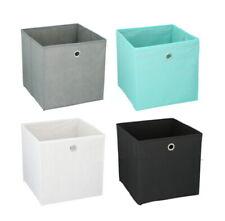Foldable Storage Boxes Cubes Collapsible Large Folding Organiser Baskets 30x30cm