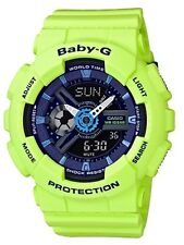 Casio Baby-G * BA110PP-3A Punching Pattern Green Anadigi Watch COD PayPal