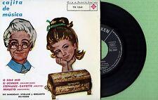 DIE SANSSOUCI - SPIELUHR Cajita Musica TELEFUNKEN TFK 13049 Pre Spain 1963 EP EX
