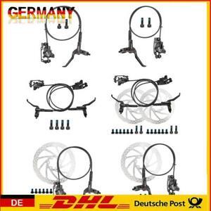 WANGQI Fahrrad Scheibenbremse Set, Bremsgriff MTB-Hydraulik-Scheibenbremssa #EB