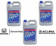 3 Gallon Genuine Honda Long Life Blue Antifreeze / Coolant Type 2